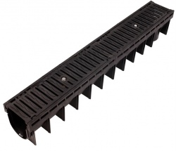 25 Tonne Ductile Iron Grate Channel Drain x 1m CD 437