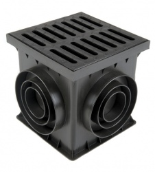 Catch Basin/Yard Drain Unit B125 Cast Iron Grate