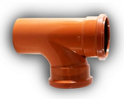 160mm Underground Drainage 87°  Junction D/S