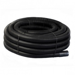 Black Twinwall Duct 63mm x 50m Coil