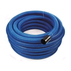 Blue Twinwall Duct 110mm x 50m Coil