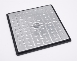 450mm x 450mm 10Tonne Steel Cover & PP Frame PC5CG