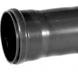 110mm Downpipe Single Socket x 4m