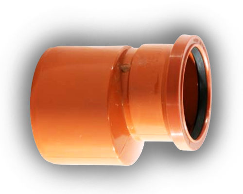 Mm drainage reducer level invert