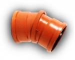110mm 0-30° Double Socket Adjustable Bend