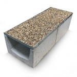A15 Gravel Top Drainage Channel x 500mm long