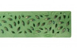 Botanical Decorative Channel Drainage Grate Green x 900mm