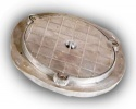 320mm Diameter Aluminium Manhole Cover & Frame