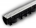 Storm Drain Plus x 1m Galvanised Grating STDP1000G