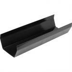 114mm Square Profile Gutter x 4m - Pack of 6