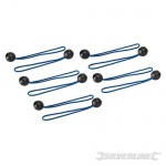 Tarpaulin Ball Bungees 10pk