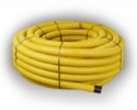 60mm Yellow Perforated Gas Duct x 25m coil