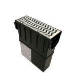 Storm Drain Plus Channel Sump Unit with Galv Grate STDPSUMPGG