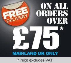 FREE DELIVERY on all orders over £75 + VAT - Mainland UK Only!