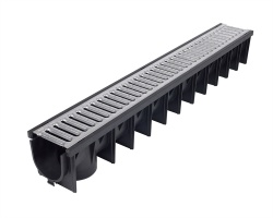 Clark Drain Channel x 1m Galvanised Grid CD425/96
