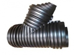 160mm Land Drain Junction