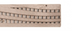 Wave Decorative Channel Drainage Grate Sand x 900mm