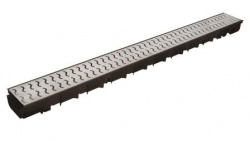 Pegasus Galv Steel 'Waves' Drainage Channel x 1m