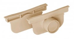 Pegasus End/Outlet Cap (pair) Sand