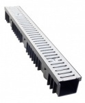 A15 Drainage Channel x 1m Galvanised Grate