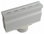 NDS Micro Channel Bottom Outlet White