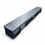 C250 Drainage Channel x 1m Galvanised Grate
