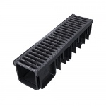 XDrain 130/120 C250 Drainage Channel x 500mm Long Cast Iron Grate