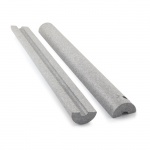 SHalloduct to suit 25mm MDPE 835mm long (pair of half shells)