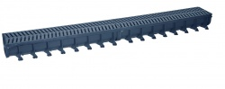 Easyflow A15 Drainage Channel x 1m (125mm x 78mm)